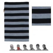 Bandană femei Sensor DF Merino Wool negru/gri černá pruhy