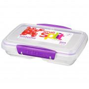 Cutie de gustări Sistema Small Split Accents 350ml violet