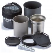 Set de vase Soto Thermostack + Cook Set Combo negru