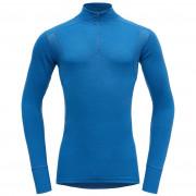 Pánské triko Devold Hiking Half Zip Neck albastru