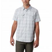 Pánská košile Columbia Silver Ridge™ 2.0 Multi Plaid S/S Shirt alb