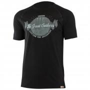 Pánské funkční triko Lasting Lucas negru černá