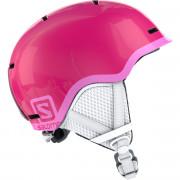 Cască de schi copii Salomon Grom roz