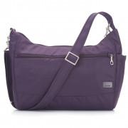Geantă Pacsafe Citysafe CS200 violet