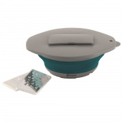 Castron portabil Outwell Collaps Bowl, Lid w/grater