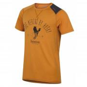 Tricou funcțional bărbați Husky Merino 100 Sheep (mânecă scurtă) maro