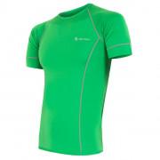 Tricou funcțional bărbați Sensor Coolmax fresh verde zelená