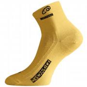 Ponožky Lasting WKS 900 galben
