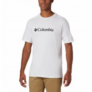 Tricou bărbați Columbia CSC Basic Logo Tee alb