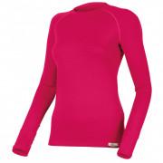 Tricou funcțional femei Lasting Lena mânecă lungă  roz