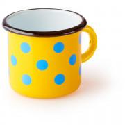 Cană Zulu Cană galbenă cu puncte albastre