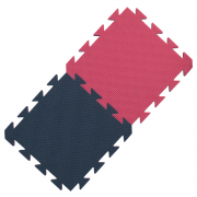 Yate covor din spumă albastru/roz