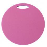 Folie de spumă sub șezut Yate strat dublu rotund albastru/roz