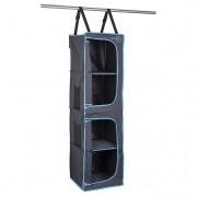 Organizér Bo-Camp 4 Compartments 35x35x131cm negru