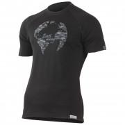 Tricou funcțional bărbați Lasting Earth negru