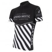 Pánský cyklistický dres Sensor Superdomestic negru