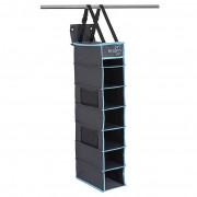 Organizér Bo-Camp 7 Compartments - 30x17x84cm negru