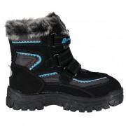 Încălțăminte de iarnă copii Alpine Pro Ento negru