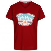 Tricou bărbați Regatta Calton roșu roșu