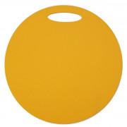 Folie de spumă sub șezut Yate un strat rotund galben