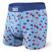 Boxeri Saxx Vibe Boxer Brief albastru deschis