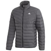 Geacă bărbați Adidas Varililte 3-Stripes Soft Down negru