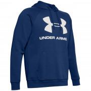 Hanorac pentru bărbați Under Armour Rival Fleece Logo Hoodie albastru