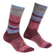 Șosete Ortovox All Mountain Mid Socks Warm W vínová