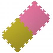 Yate covor din spumă roz/verde