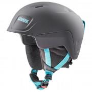 Cască de schi copii Uvex Manic Pro negru/albastru