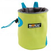 Săculeț la magneziu Rock Empire Chalk Bag Spiral verde/albastru světle zelená