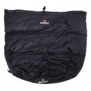 Inserție pentru sacul de dormit Warmpeace călduroasă negru