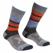 Șosete Ortovox All Mountain Mid Socks Warm M gri/albastru