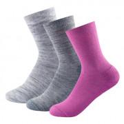 �osete femei Devold Daily medium sock 3PK culori mix anemone mix