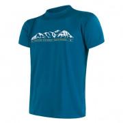 Tricou bărbați Sensor PT Coolmax Fresh Hory mânecă scurtă albastru safír