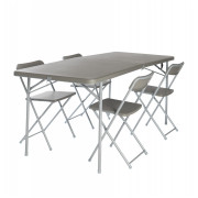 Set Vango Orchard XL 182 Table and Chair gri