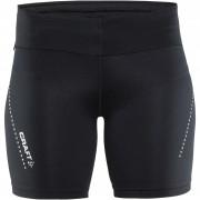 Pantaloni scurți elastici femei Craft Essential Short negru