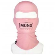Cagulă Mons Royale B3 Balaclava roz