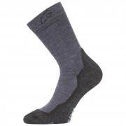 Ponožky Lasting WHI 721 albastru/gri