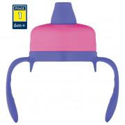 Tvrdé pítko Thermos pro kojeneckou termosku Foogo roz/albastru