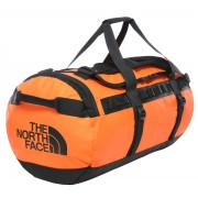 Geantă The North Face Base Camp Duffel - M portocaliu
