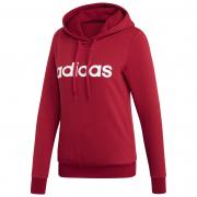 Hanorac femei Adidas Essentials Linear OH roșu