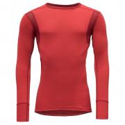 Tricou bărbați Devold Hiking Man Shirt Chilli roșu