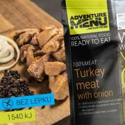 Adventure Menu 100% Carne de curcan cu ceapă  200 g