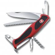 Cuțit Victorinox  RangerGrip 55: roșu/negru