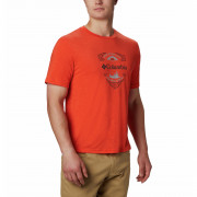 Pánské triko Columbia Nelson Point™ Graphic portocaliu