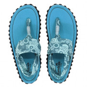 Sandale pentru femei Gumbies Slingback turcoaz/albasru