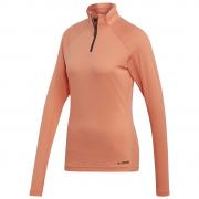 Tricou femei Adidas Trace Rocker portocaliu