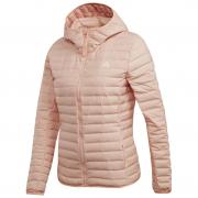Geacă femei Adidas Varilite Soft Hooded roz