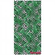 Prosop cu uscare rapidă Towee Monstera 80x160 cm alb/verde